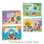 Mega Pack of The Story of Moses Sticker Scenes: Pack of 48