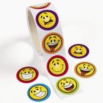 Smiley Face Stickers - 50 Stickers