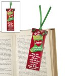 Christmas 'Hang your hope on Him' Bookmarks - pack of 12