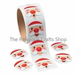 Santa Christmas Stickers - 50 stickers