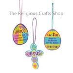 Jesus is the Reason for Easter Season Craft:  Pack of 12