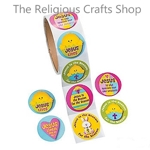 Jesus is the Reason Easter Stickers - 50 Stickers