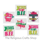 Jesus is My BFF Tattoos:  Pack of 12