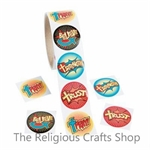 Fantastic Faith Stickers - pack of 50