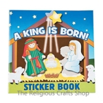Nativity Story Book with Stickers - 1 Unit