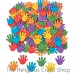 Self Adhesive Foam Hand Shapes - Pack of 50