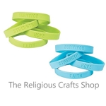Inspirational Awareness Rubber Bracelet: 1 Unit