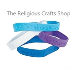Christmas Carol Rubber Bracelet - 1 Unit
