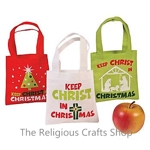 Christian Christmas Mini Bag - 1 unit