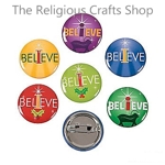 I Believe Badges - Pack of 4