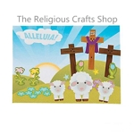 Make a Sticker Scene - Alleluia Easter Scene - 12 Pack