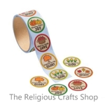 Autumn Faith Stickers - Pack of 50
