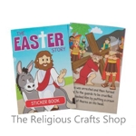 The Easter Story Book with stickers - 1 Unit