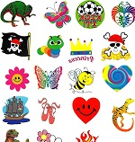 Fundraising Pack of Mixed Tattoos:  120 tattoos