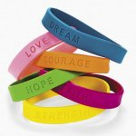 Inspirational Sayings Friendship Bracelet - 1 unit