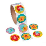 Flower Stickers:  Pack of 50