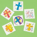 Religious and Christian temporary tattoos