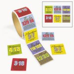 Christian Verse and Passage Stickers - 50 Stickers
