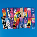 Christian Bookmark and brooch gift set  - 1 unit
