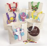 Christian Canvas Tote Bag - 1 unit