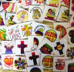 Christian Fund Raising Tattoo Pack - 60 tattoos