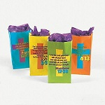 Christian Verse Bags - Pack of 12