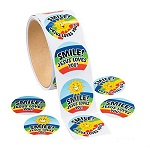 Smile, Jesus Loves You Stickers:  Pack of 50