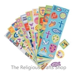 Religious Sticker Sheet - 1 unit