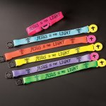 Sunday School 12 Pack - Jesus is the Light Friendship Bracelets