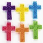 Neon Cross Mazes - Pack of 6