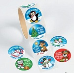 Christmas Inspirational Stickers - mega pack of 100