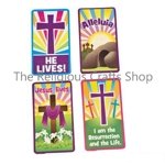 Easter Plastic Wallet Card with a Bible Quotation