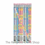 Rejoice He Lives Pencils - 12 Pack
