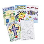 Religious Colouring Book - 1 item