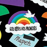 Promises Rainbow Magnet Craft:  12 pack