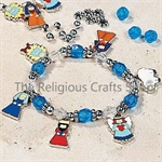 Nativity Charm Bracelet Craft:  1 item