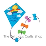 Inspirational Kite Door Sign Craft:  1 unit