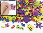 1 Large Sheet of Bugs Self Adhesive Foam Shapes