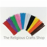 Pipe Cleaners - multi coloured pack of 50