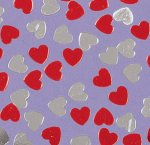 Heart Confetti:  5g bag