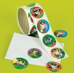 Funky Frog Stickers - 50 stickers