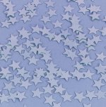 Silver star confetti - 5g bag