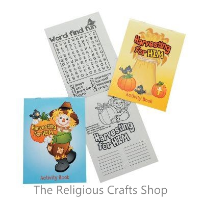 Harvest Inspirational Activity Book  - 1 unit
