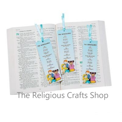 Beatitudes Bookmarks - Pack of 12
