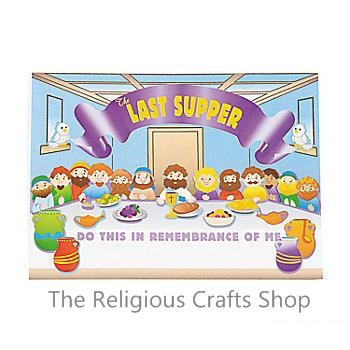 Make a Sticker Scene,  The Last Supper:  12 Pack
