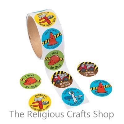 God at Work Stickers:  Pack of 50