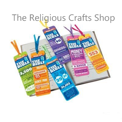 Facts of the Bible Bookmarks:  Pack of 12