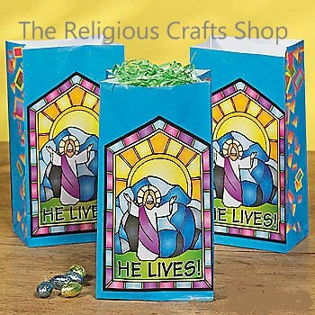 He Lives Bags - Pack of 12
