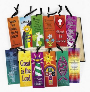 Sunday school and bible class crafts gifts and supplies christian bookmark 1 unit negle Image collections
