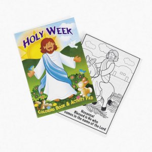 Holy Week Activity Book:  1 item